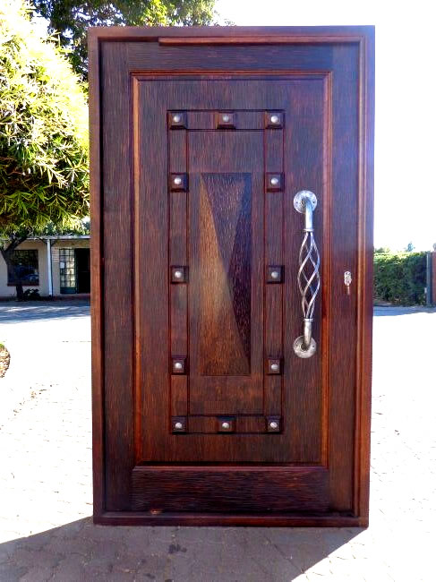 About us it 39 s africa woodcraft for Wood doors south africa